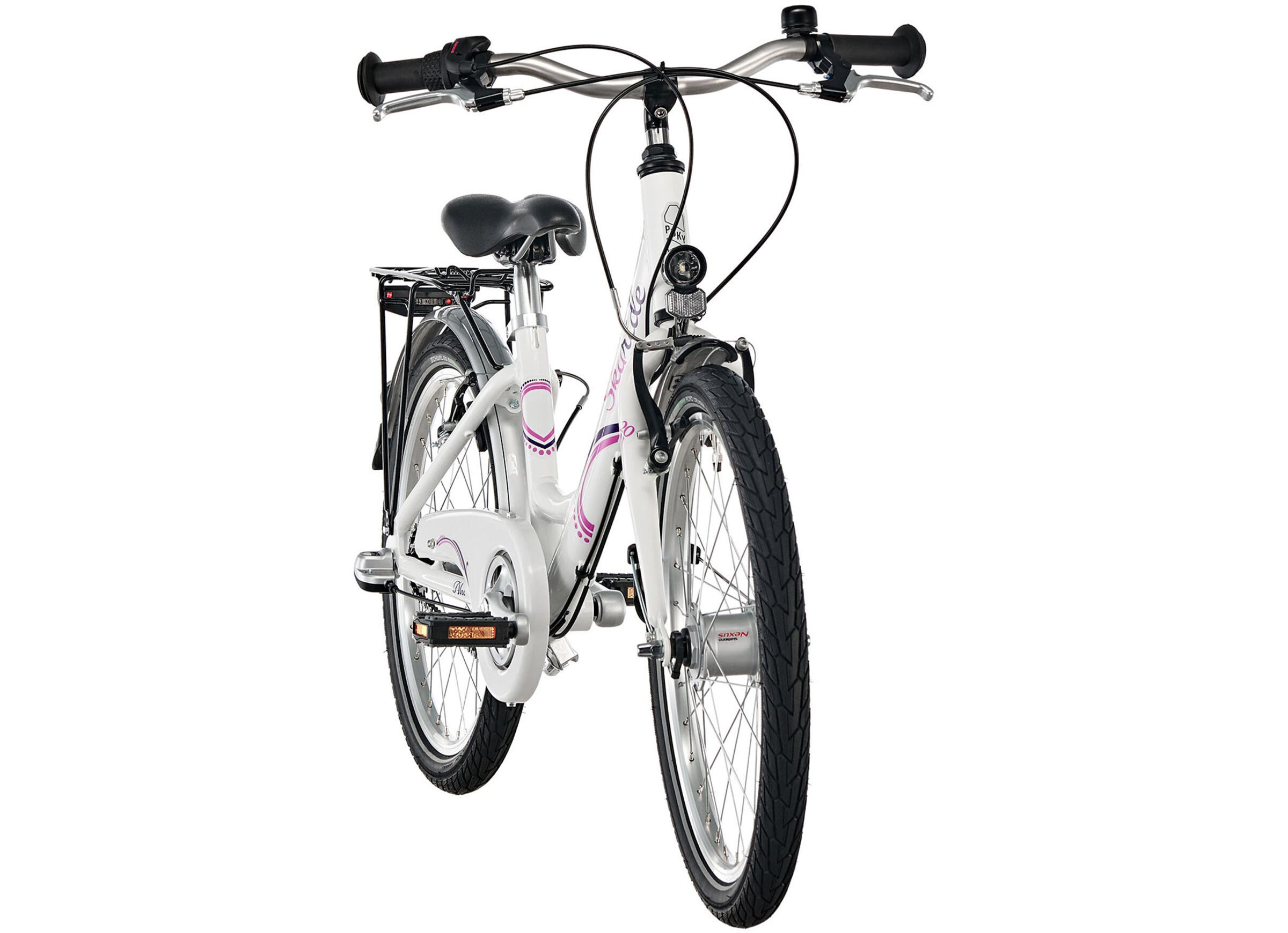 puky skyride 20 3 fahrrad alu light m dchen wei g nstig kaufen br gelmann. Black Bedroom Furniture Sets. Home Design Ideas
